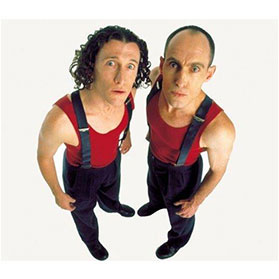 Umbilical Brothers (Australia, 2004, 2006)